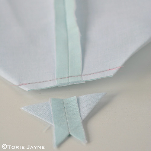 Pretty tote sewing tutorial 16
