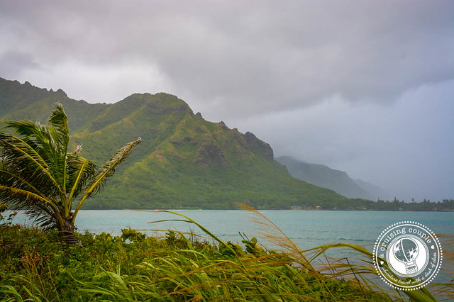 Windward Coast, or the East Shore, of Oahu, Hawaii