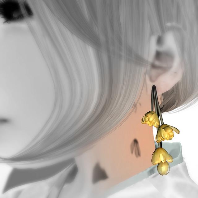 *NAMINOKE*Wintersweet - Soshin Ro-bai earring