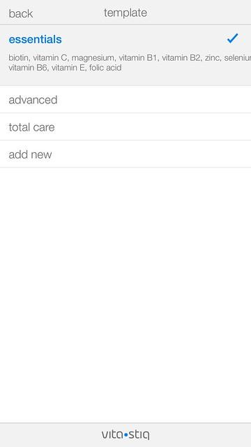 Vitastiq iOS App - Templates
