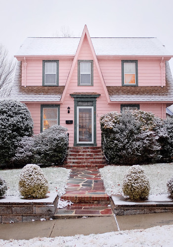 our pink house