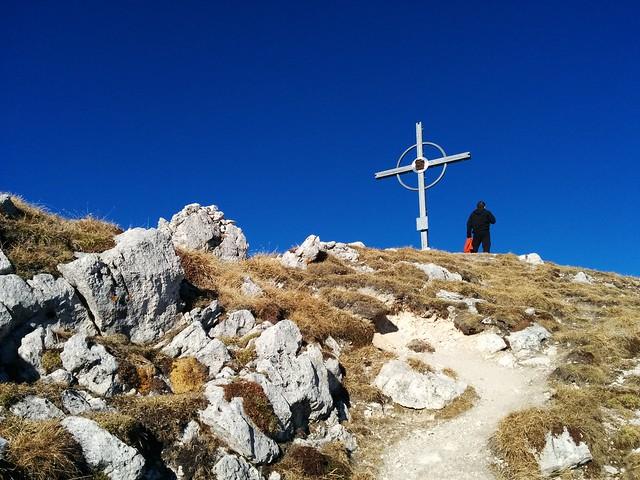 Gipfelkreuz Hochalpenkopf, Pragser Dolomiten