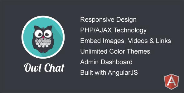 CodeCanyon Owl Chat v2.0 – Responsive Chat Community