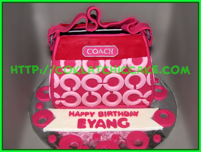 Cake Tas Coach
