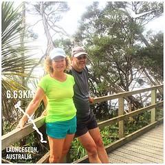 Little jog around our old training track :) #upsticksandgo #exploring #travel #tasmania #instagood #instatravel #instagram #discovertasmania #michfrost #stillwater #launceston #jogging #jog #running #training #run #fitness