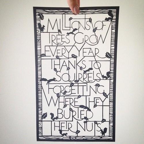 Paper Cut Lettering - Pretty Paper Dreams