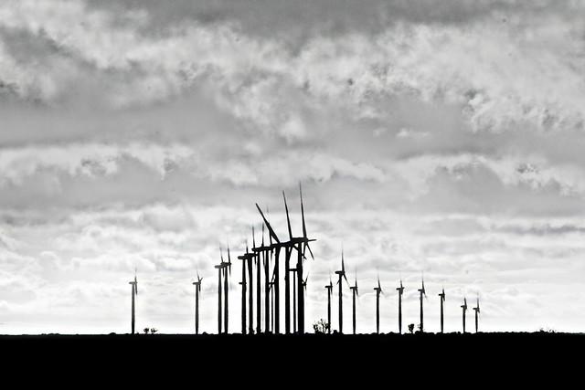 Turbinas Eólicas POV la autopista, rumbo a Murcia, Spain (2015)