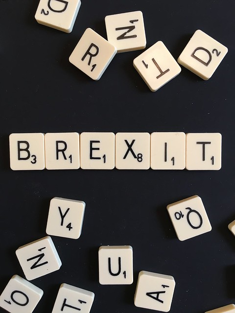 Brexit Scrabble from Flickr via Wylio