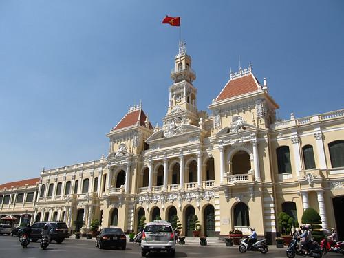 Ho Chi Minh Ville: l'Hôtel de Ville