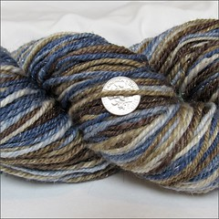 Sandpiper handspun, close up