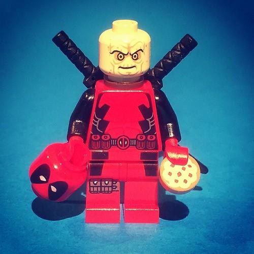 Deadpool unmasked? #lego #legos #minifigure #legominifigures #minifigures #legominifigure #legobrick #toyslagram #brick #brickpals #brickswag #brickcentre #brick_vision #brickcentral #brickculture #brickinsider #brickstagram