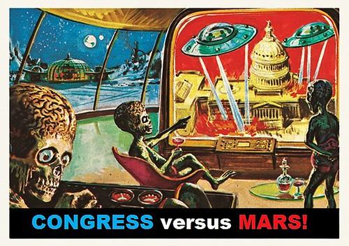 Congress Versus Mars!