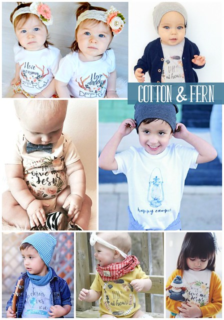 cotton and fern blog advert