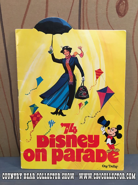 1974 Walt Disney On Parade Program - Country Bear Collector EPISODE 35