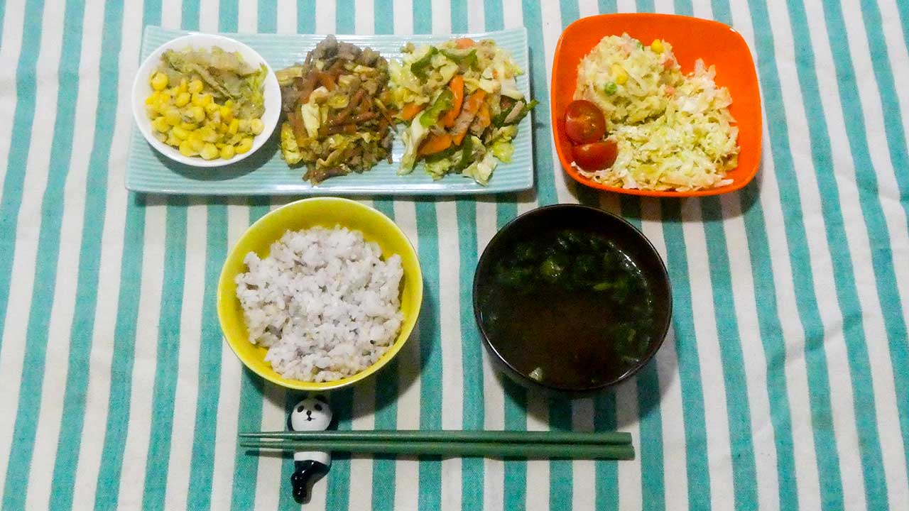 2016年2月24日の晩ご飯