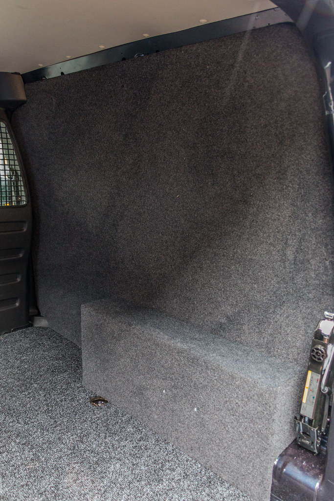627249e591 by Van Line NI · VW Caddy - Carpet Lining   Sound Proofing