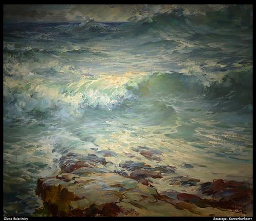 Olexa Bulavitsky - Seascape, Kannenbunkport  JPB