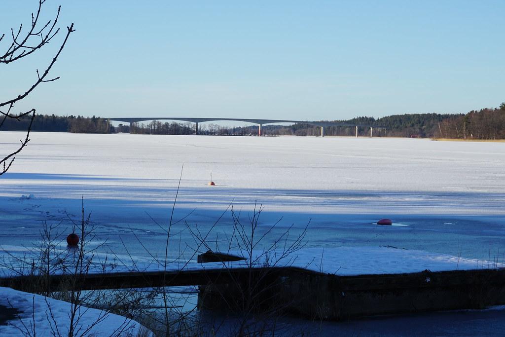 Vy över Strängnäsbron