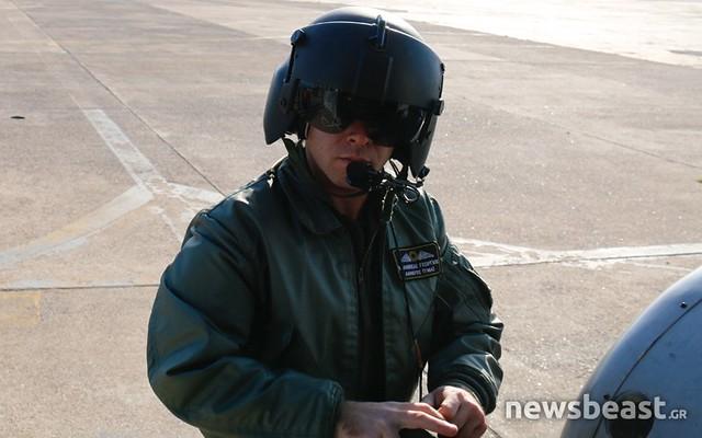 Μία ημέρα με τους πιλότους των ελικοπτέρων Super Puma
