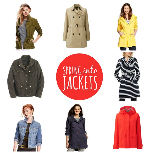 on trend spring jackets 2016 | Style On Target