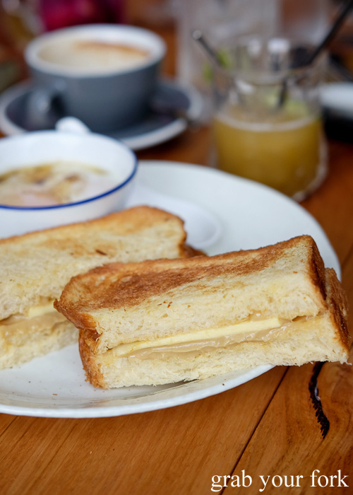 Kaya toast at Lazy Suzie, Darlinghurst