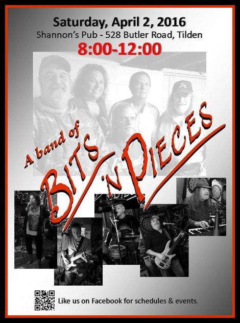 Bits 'n Pieces 4-2-16