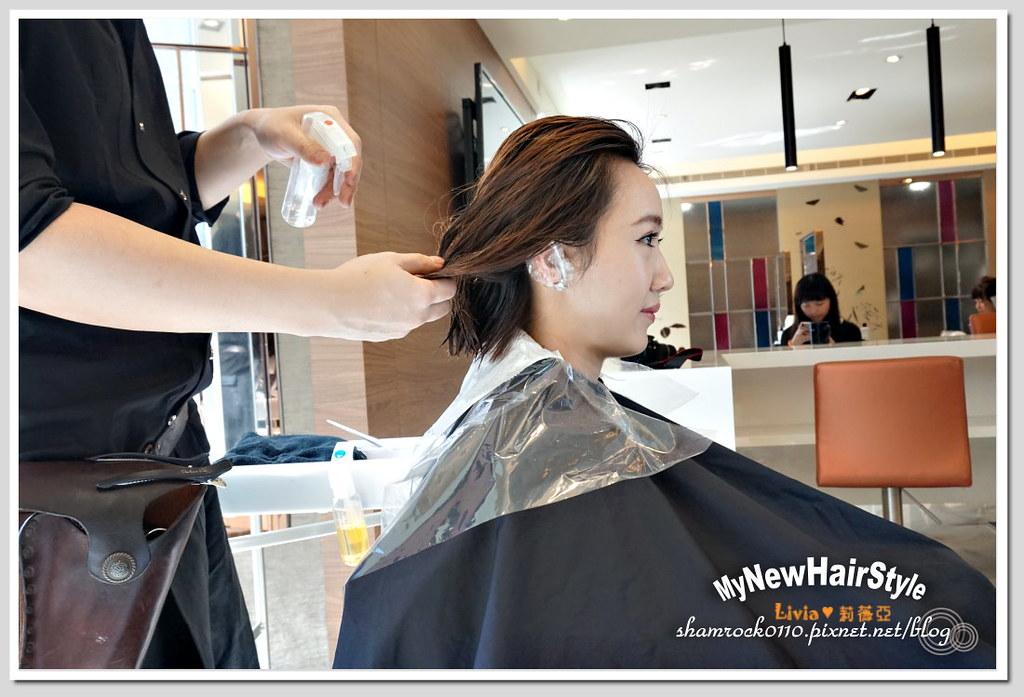 HappyHairTon短髮+墨綠色染髮 - 08