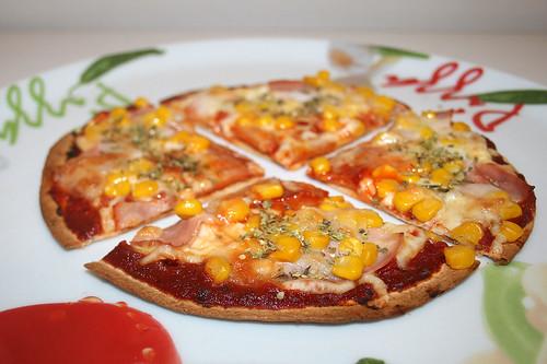 25 - Tortilla-Pizza - Variante 2 - Seitenansicht / Side view