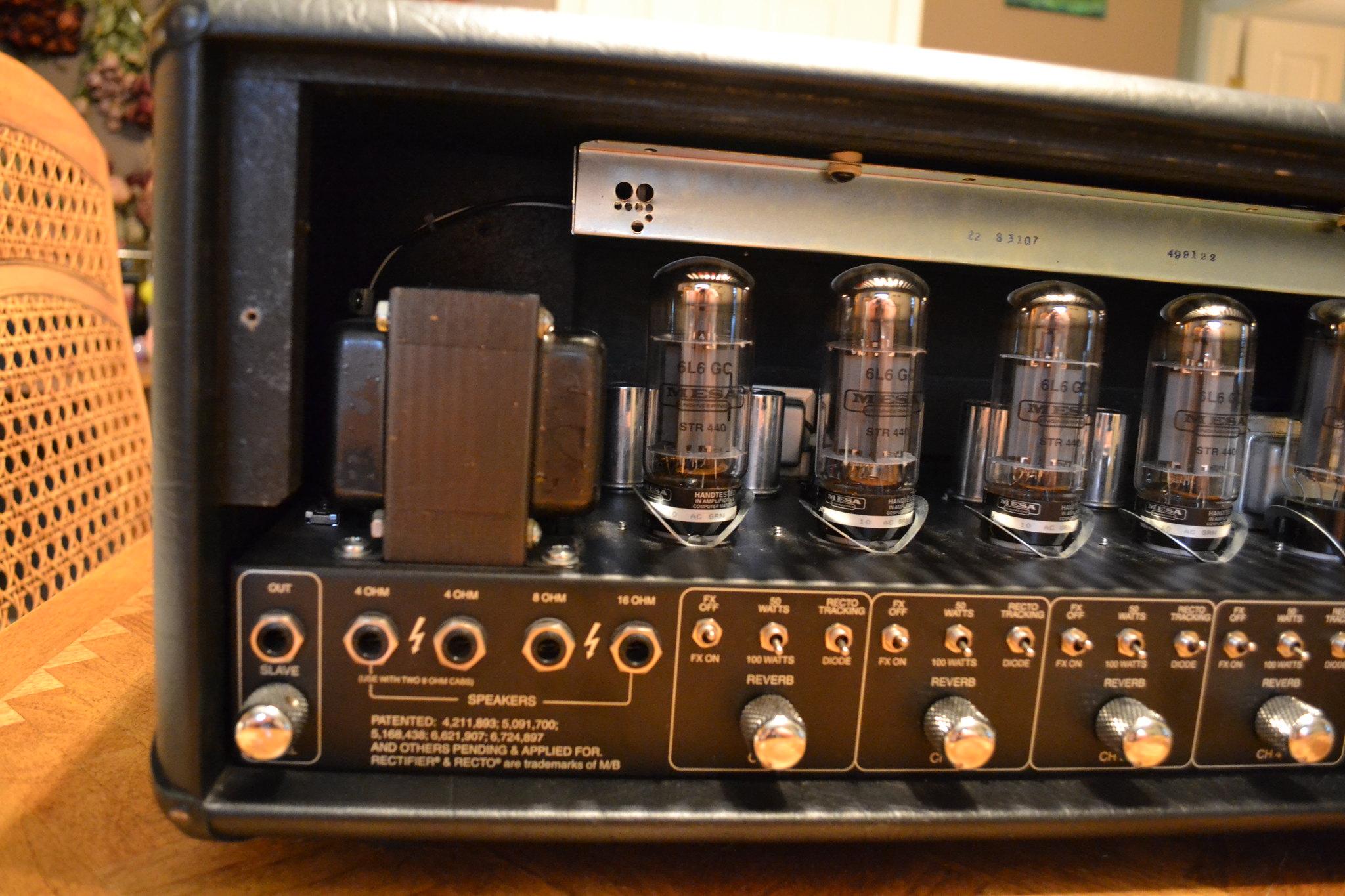 Mesa boogie dual rectifier схема
