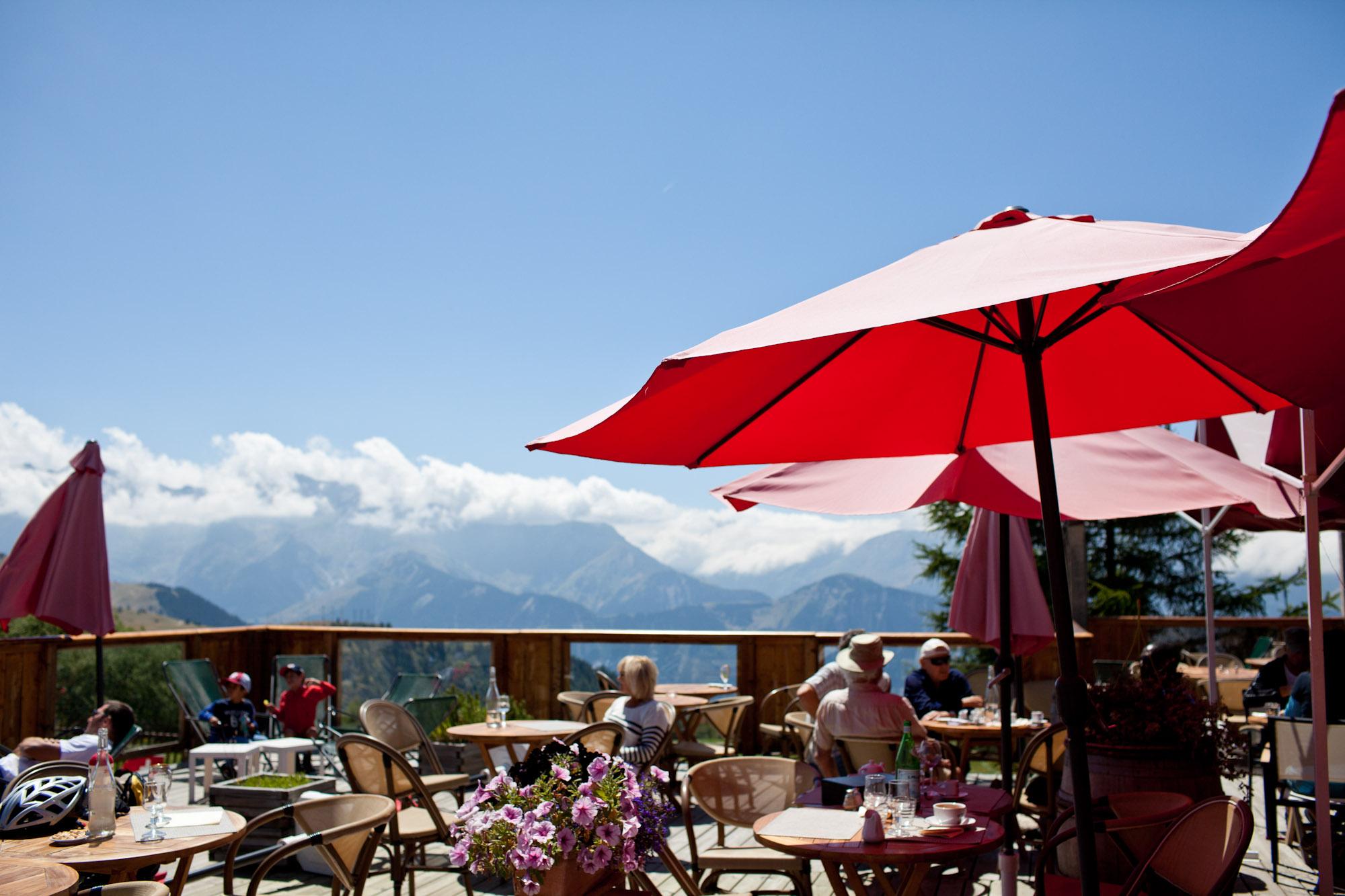 l'Altiport à l'Alpe-d'Huez