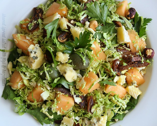 Shaved Sprout Salad with Figs & Hazelnuts 3
