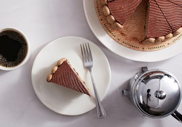 Starbucks Belgian Chocolate Chip Cake