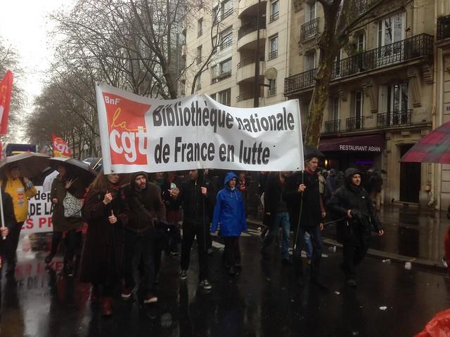 Manifestation du 31 mars 2016 pour le retrait du projet de loi El Khomri