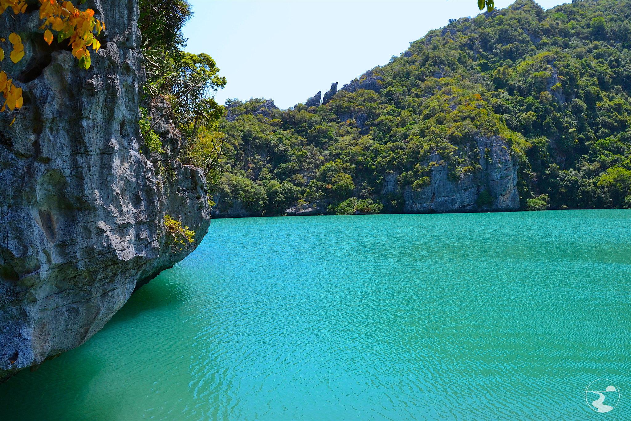 Emerald Lagoon, mirador bajo