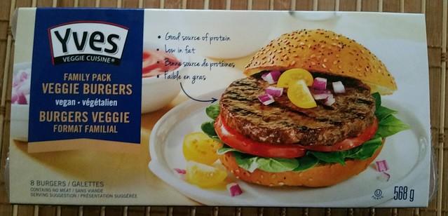 Yves Veggie Cuisine - Family Pack Veggie Burgers (vegan)