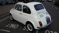FIAT 500 F (1967). How gorgeous is this?
