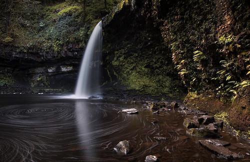 longexposure water wales forest woodland river waterfall rocks stream place unitedkingdom cymru gb glynneath shawnwhite sgwdgwladus streamriver canon6d afonpyrddin riverpyrddin ladyswaterfall