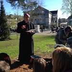 Privataudienz bei Bischof Vitus