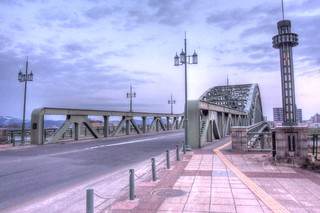 Asahibashi-Bridge, Asahikawa in early morning on APR 21, 2016 vol01 (9)