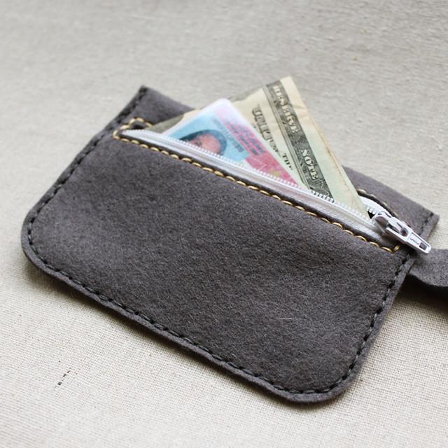 Felt Wallet Back