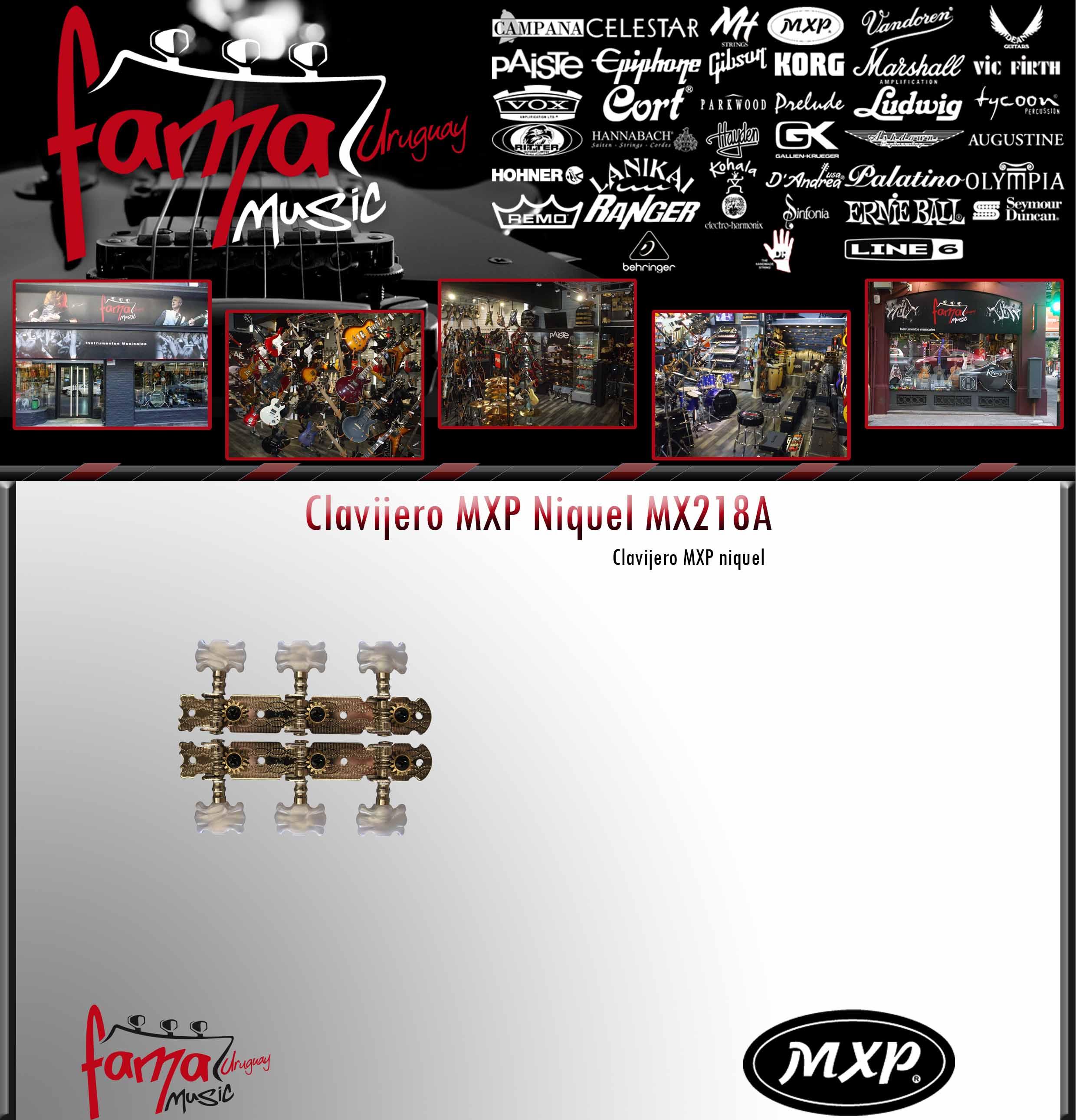 Clavijero MXP Niquel MX218A