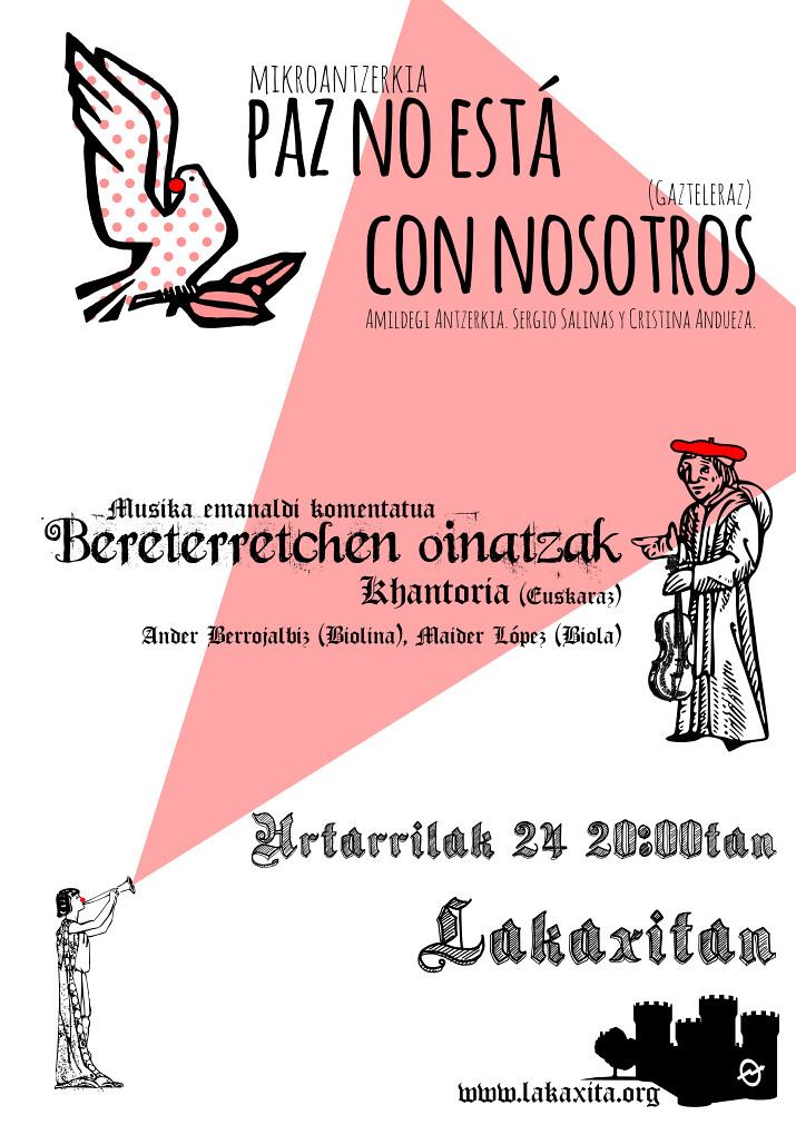 Urtarrileko antzerki eta musika emanaldia