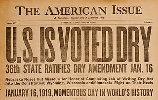 """U.S. Is Voted Dry."""