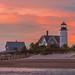 Sunset at Sandy Neck by jlucierphoto