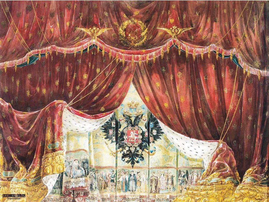 19世纪芭蕾剧舞台设计04