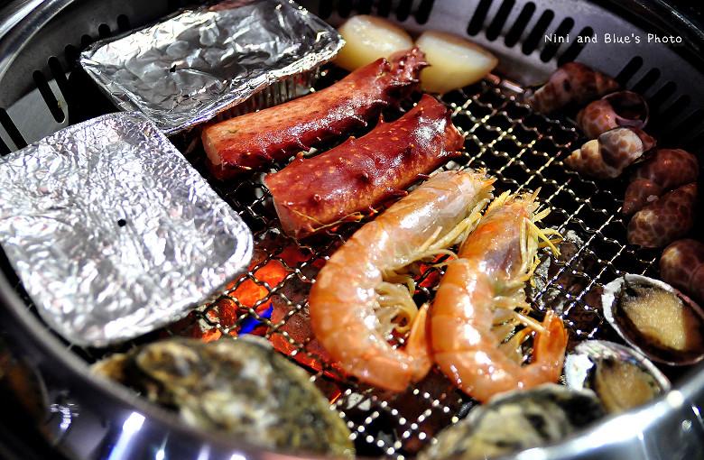 台中潼帝王蟹吃到飽頂級燒烤29副