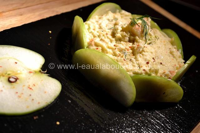 Tartare de Crabe-Crevettes-Granny & Céleri au Wasabi  © Ana Luthi Tous droits réservés 17