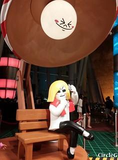 朗豪坊 MONGKOK HONGKONG LINE 連我 2015 CIRCLEG 聖誕裝飾 (1)
