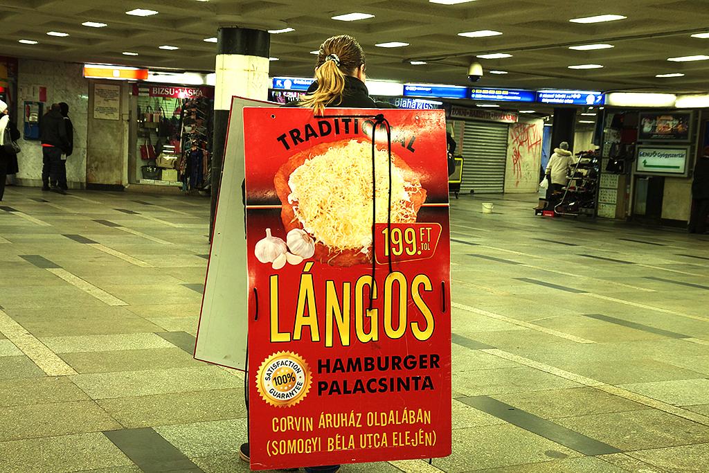 Blaha Lujza station concourse--Budapest 6