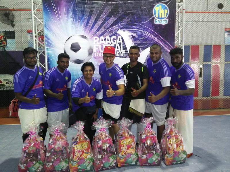 1st Runner Up - Goal Team - Raaga Futsal